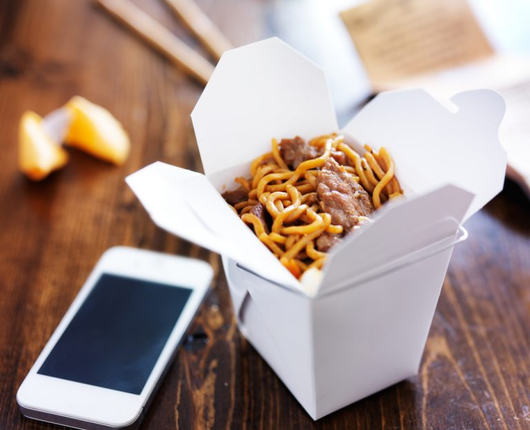 Food Delivery: pasta with home delivery